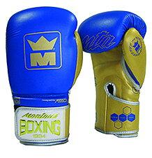 Montana Boxhandske Victory Blue/Gold, 10-16 oz