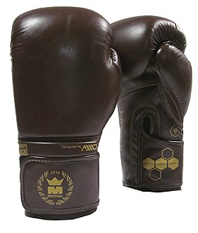 Montana Boxhandske Victory Dark Brown-Heritage, 10-16 oz