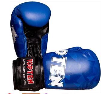 Topten Boxingglove Prism , Blue 10-12 oz