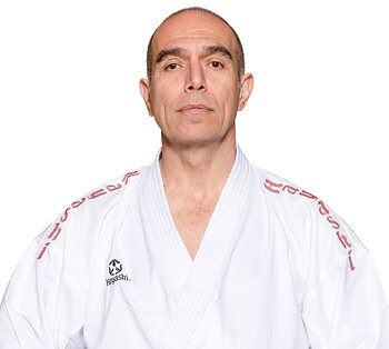 Hayashi  AIR  Deluxe  Kumite Gi red shoulder