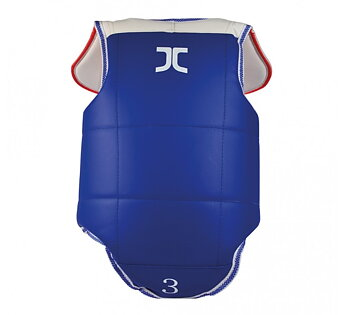 JCalicu Chestprotector Club with shoulderguard Reversible, Gamla loggan