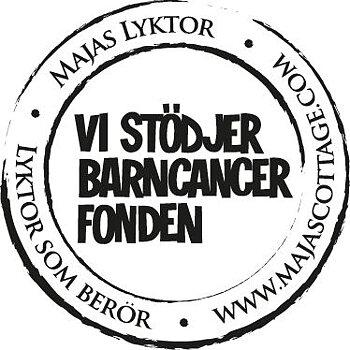 Ljuslykta Skörstark - Majas lyktor/ Barncancerfonden