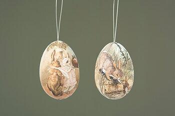 Ägg häng vintage -Hare