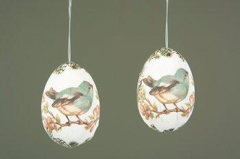 Ägg häng vintage - Fågel