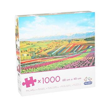 Pussel - Blomsterfälten 1000 bitar