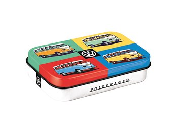 Plåtask VW med minttabletter