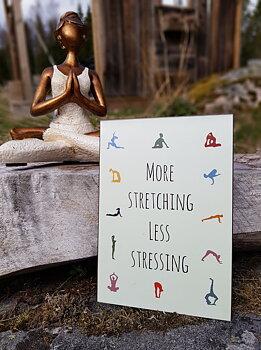 """Skylt """" More stretching..."""""""