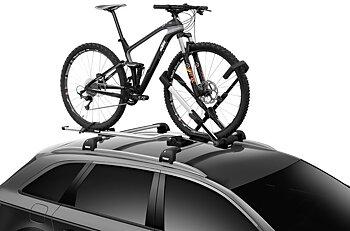 Polkupyörän kuljetusteline THULE UpRide 599, kattotelineisiin