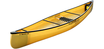 Clipper Canoes 14' Prospector Solo Kevlar Duraflex