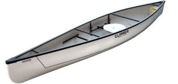 "Clipper Canoes 15'6"" Solitude Solo Ultralight"