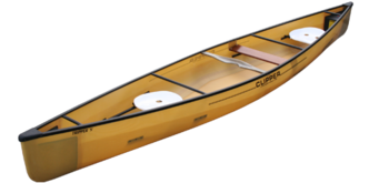 "Clipper Canoes 16'6"" Tripper-S"