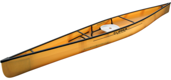 "Clipper Canoes 16'7"" Freedom F-1 Solo Ultralight"