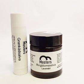 Mosters lilla paket Ringblomssalva + Grankådsalva