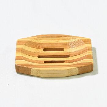 Tvålkopp i bambu 123x83x15 mm