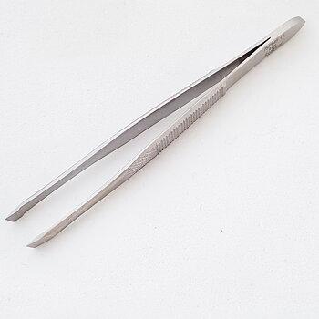 Pincett,  vinklad 9 cm