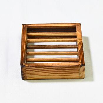 Tvålkopp i bambu 100x92x27 mm