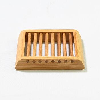 Tvålkopp i bambu 115x80x22 mm