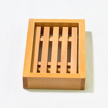 Tvålkopp i bambu 128x87x29 mm