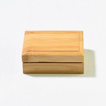 Tvålask i bambu