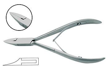 Specialtång för nageltrång, rostfritt stål, 10 cm Tysk kvlitet