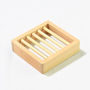 Tvålkopp i bambu 100x95x25 mm