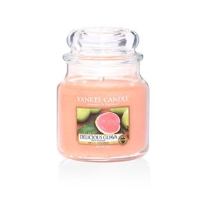 Delicious Guava Medium Jar, Yankee Candle