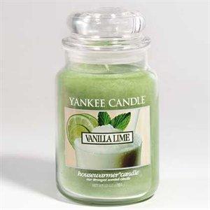 Vanilla Lime, Large jar, Yankee Candle