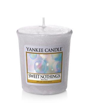 Sweet Nothings, Votivljus / Samplers, Yankee Candle