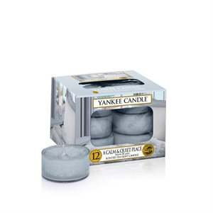 A Calm & Quiet Place, Värmeljus, Yankee Candle