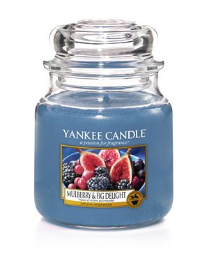 Mulberry & Fig Delight, Medium Jar, Yankee Candle