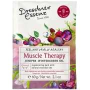 Muscle Therapy, Juniper, Dresdner Essenz, Badpulver