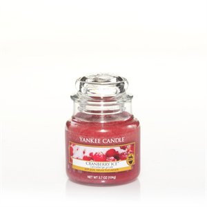 Cranberry Ice, Small Jar, Yankee Candle
