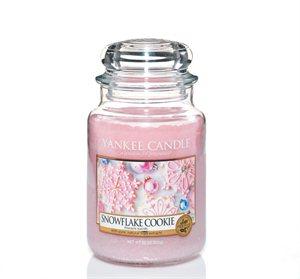 Snowflake Cookie, Large Jar, Yankee Candle