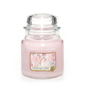 Snowflake Cookie, Medium Jar, Yankee Candle