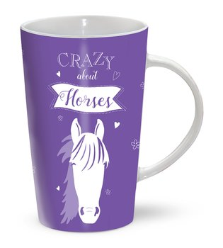 RIVERBANK MUG - CRAZY ABOUT HORSES