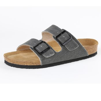 DEVO Korksandal Canvas