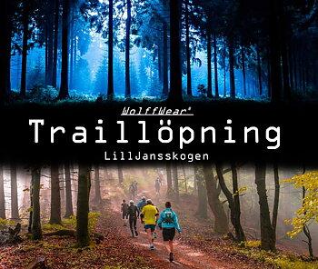 Wolffwear Traillöpning i Lill-Jansskogen