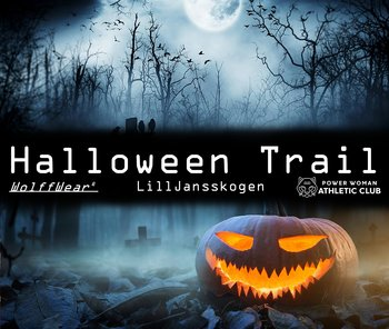 Halloween Dark Trail Run 31/10  - Lilljansskogen