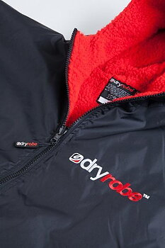 Dryrobe Advance Long Sleeve - Black/Red