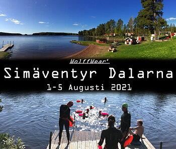 Simäventyr i Dalarna  1-5 Augusti 2021