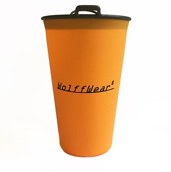 Wolffwear Silikonmugg - Orange 250 ml