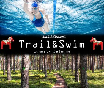 Trail & sim weekend in Dalarna våren 2021