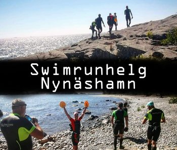 Swimrun weekend at Nynäshamn September 2021