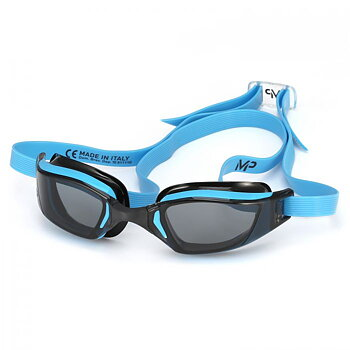 MP Michael Phelps XCEED Blue/Black with dark lenses