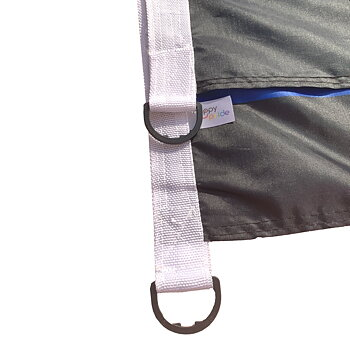 Leather Flag 90 x 150cm D-loop