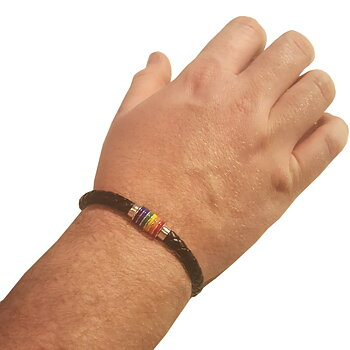 Leather Bracelet Pride