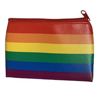 Pride color coin bag