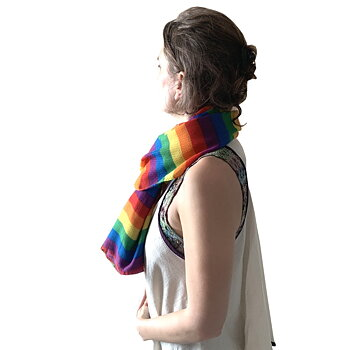 Pride scarf pride colors