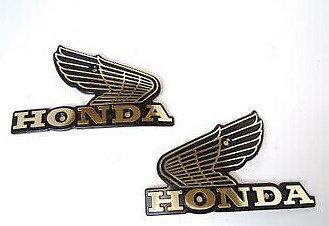 87121-449-505 Tankemblem sast Honda CB650C  Original  1980-82