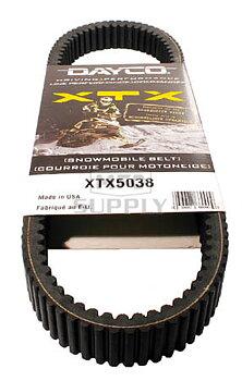 Dayco XTX5038 Drivrem-Variatorrem 37x1106 Arctic Cat (0627-073, 0627-066)